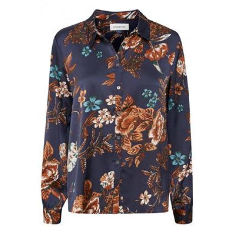 Denim Hunter Sara Shirt Medieval Blue