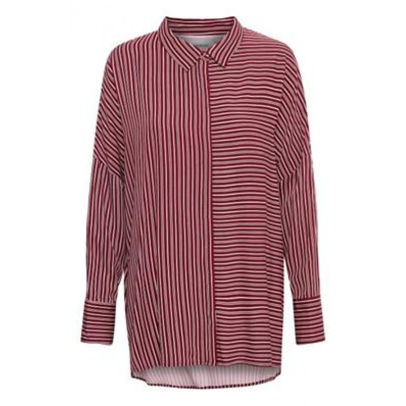 Denim Hunter Skye Shirt Cabernet