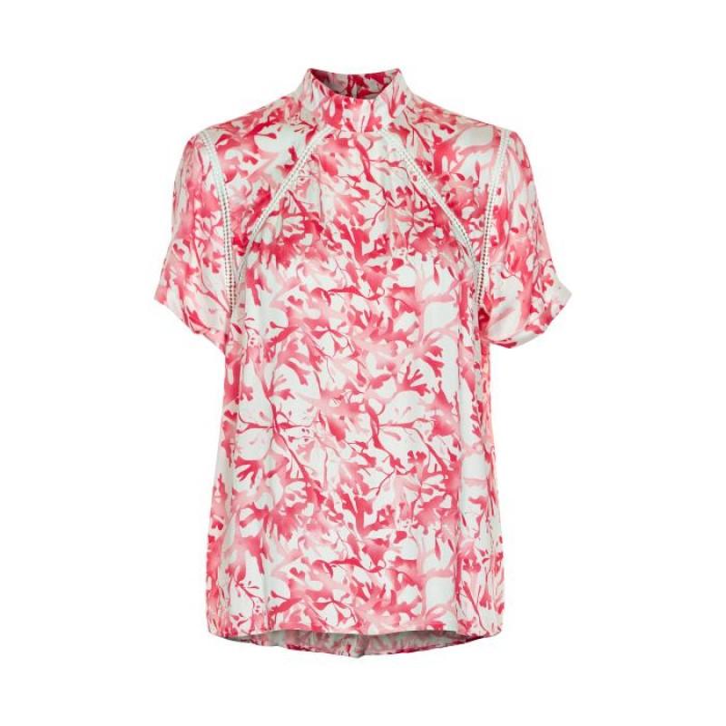Denim Hunter Stine T-shirt Living Coral