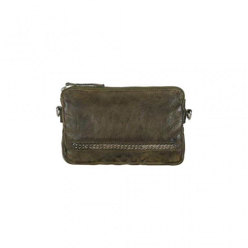 Depeche Small Bag/Clutch Olive Piombo