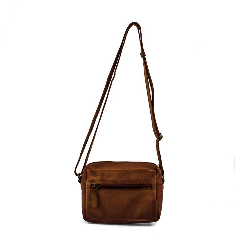 RE:DESIGNED By Dixie Allie Bag Small Cognac