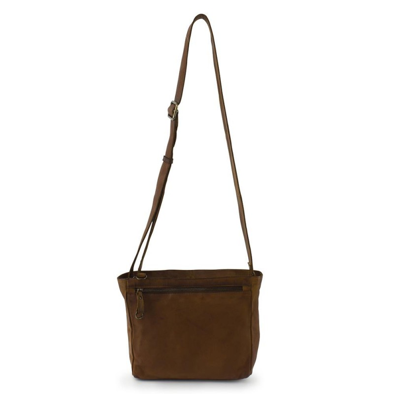 RE:DESIGNED By Dixie Balsby Bag Small Cognac