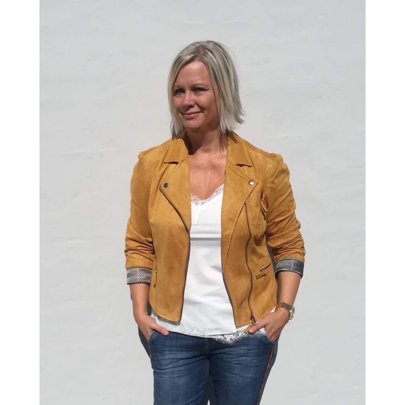 Freequent Birdie Jacket Spiced Yellow