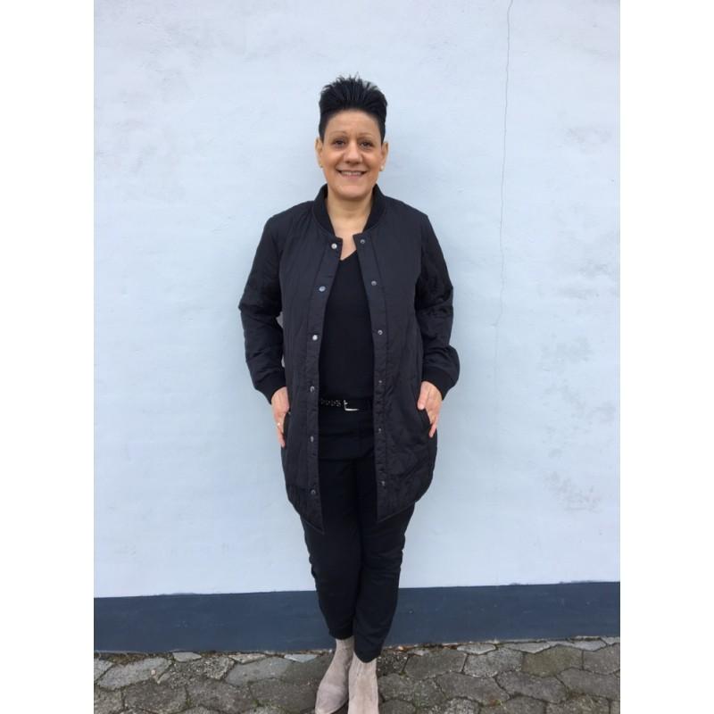 Freequent Christiane Long Jacket Black