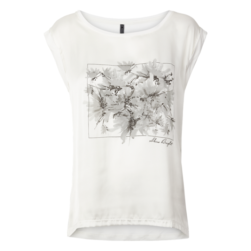 Freequent Gene SS Flower Off White