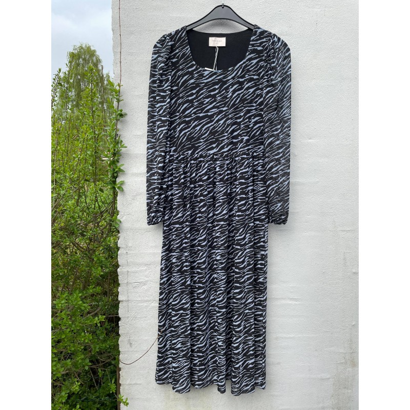 Freequent Hama Dress Square Recycled Black Mix