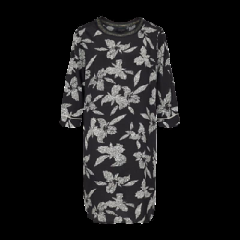 Freequent Inia Dress Black Mix