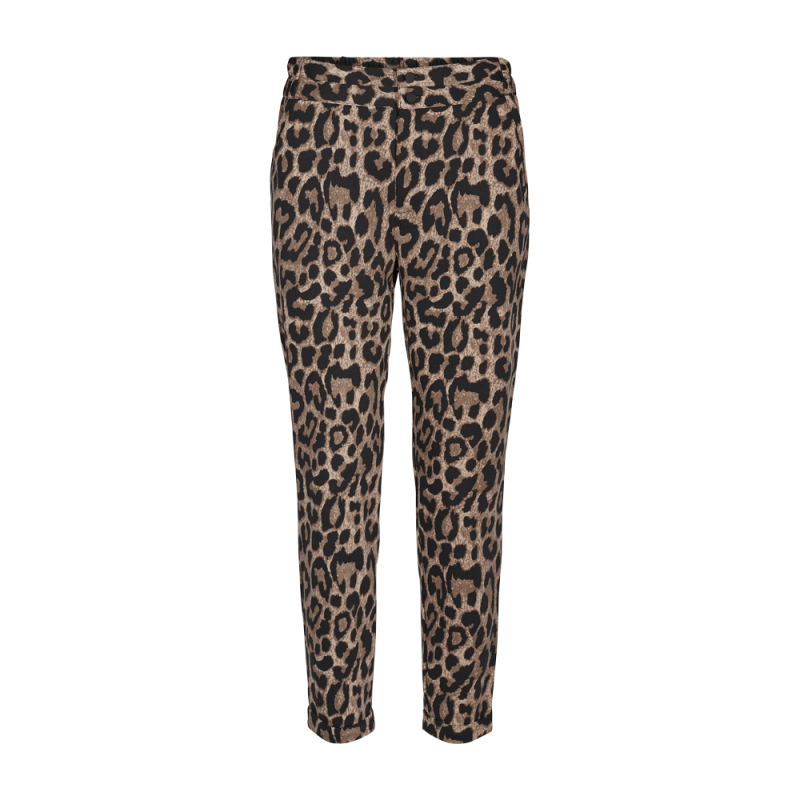 Freequent Nanni Ankle Pants Wild Leopard Print