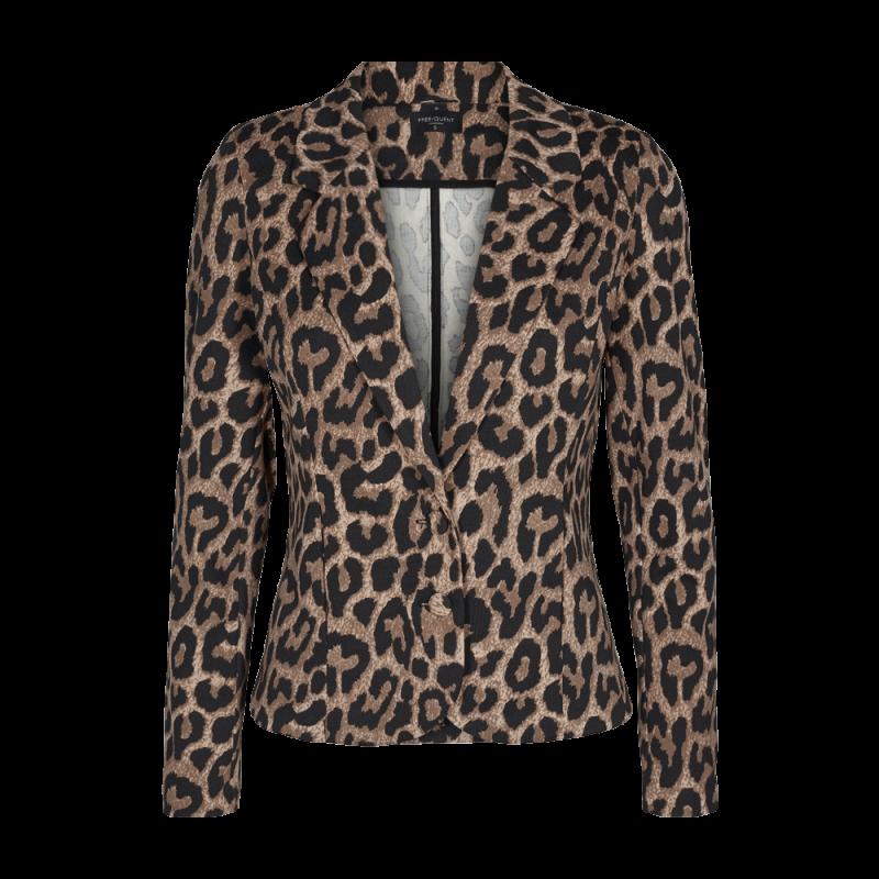 Freequent Nanni Jacket Wild Leopard Print