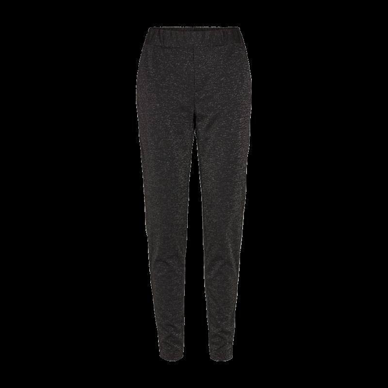 Freequent Nanni Pants Lurex Black W. Silver
