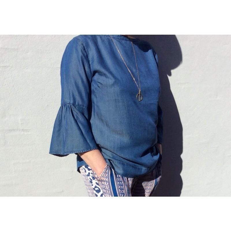 Freequent Pretty Blouse Medium Blue
