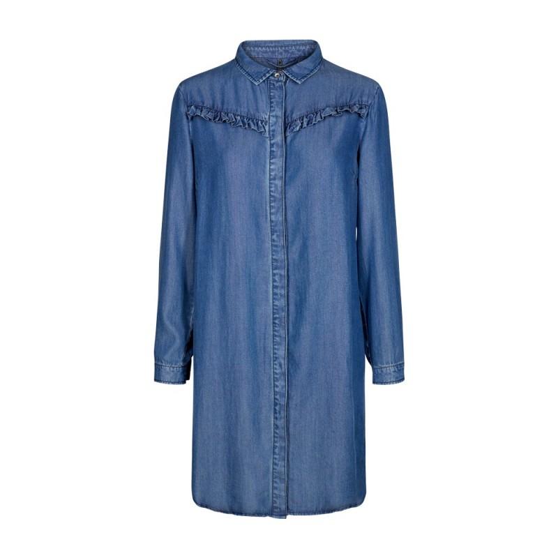 Freequent Pretty Shirt Medium Blue