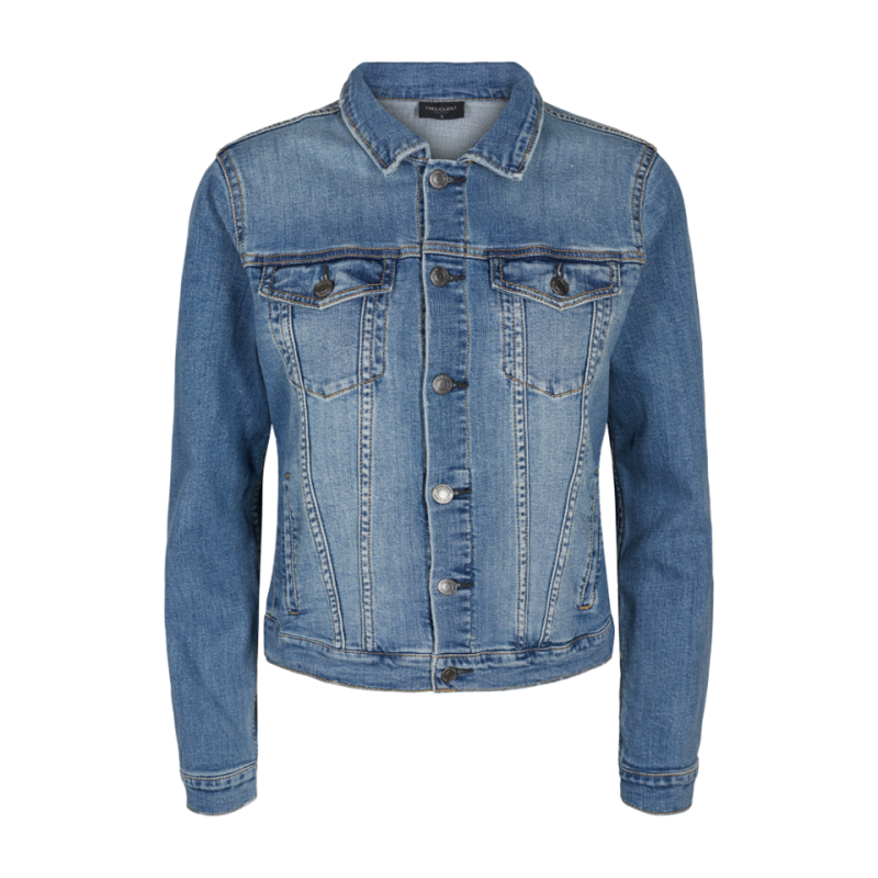 Freequent Rock Jacket Vintage Blue Denim