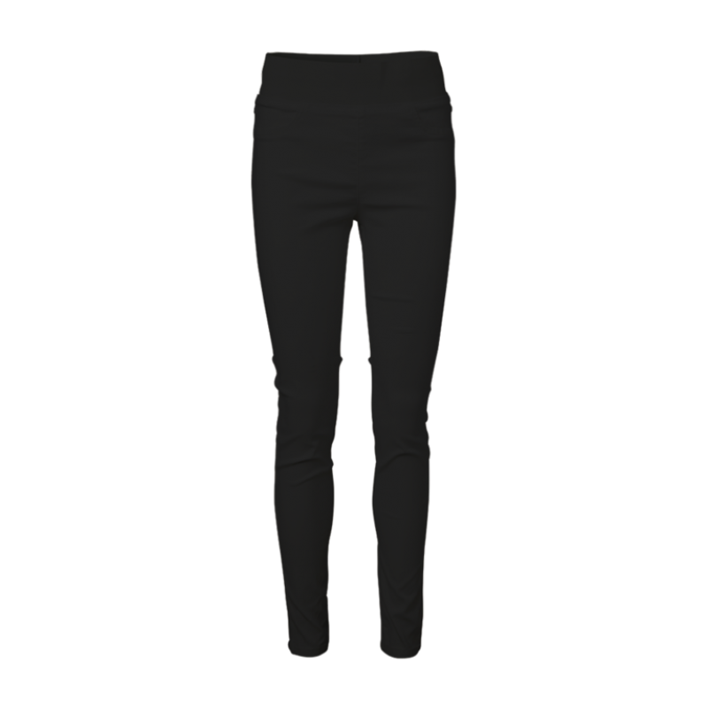 Freequent Shantal Pant Power Black