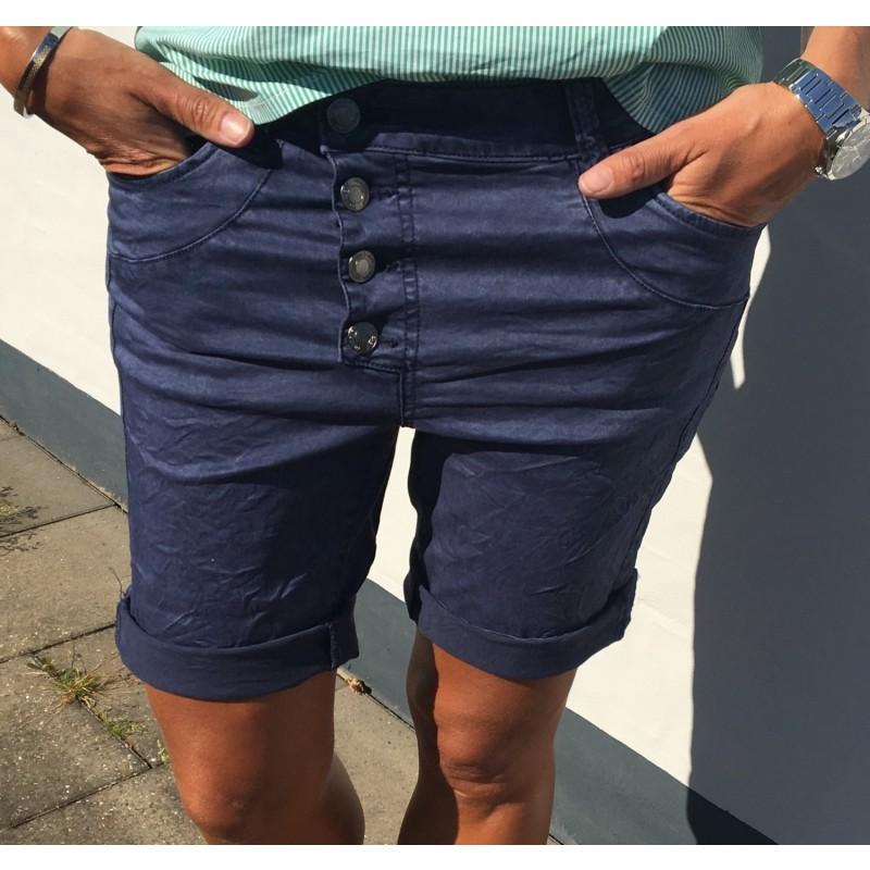 Freequent Yip Shorts New Navy Blazer
