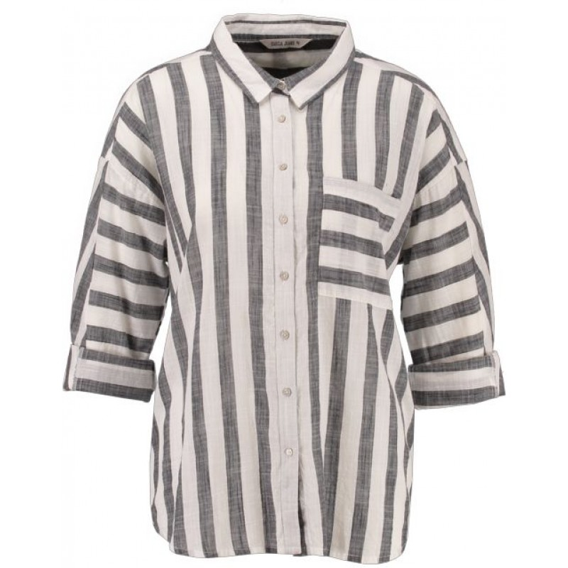 Garcia Ladies Shirt LS Off White