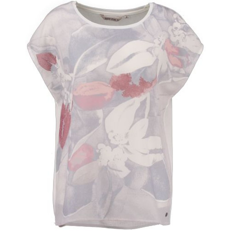 Garcia Ladies Shirt SS Off White