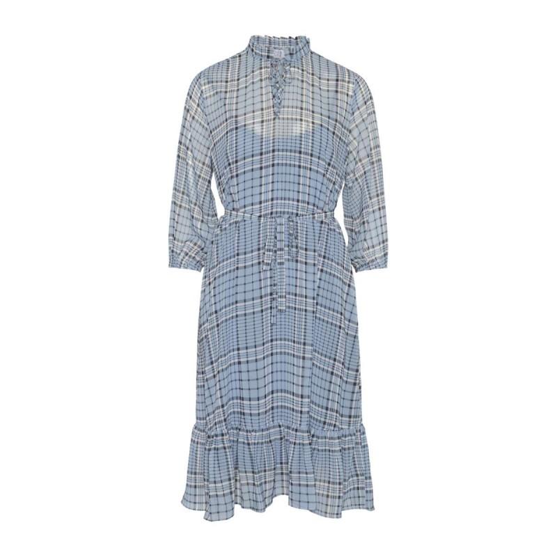 Love & Divine Dress L. Blue Check