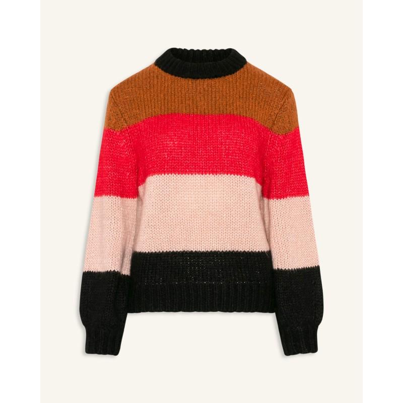 Love & Divine Sweater Knit Col. Block