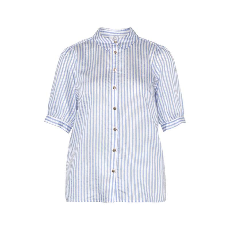 Love & Divine Shirt Blue White