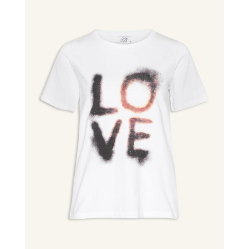 Love & Divine T-shirt White