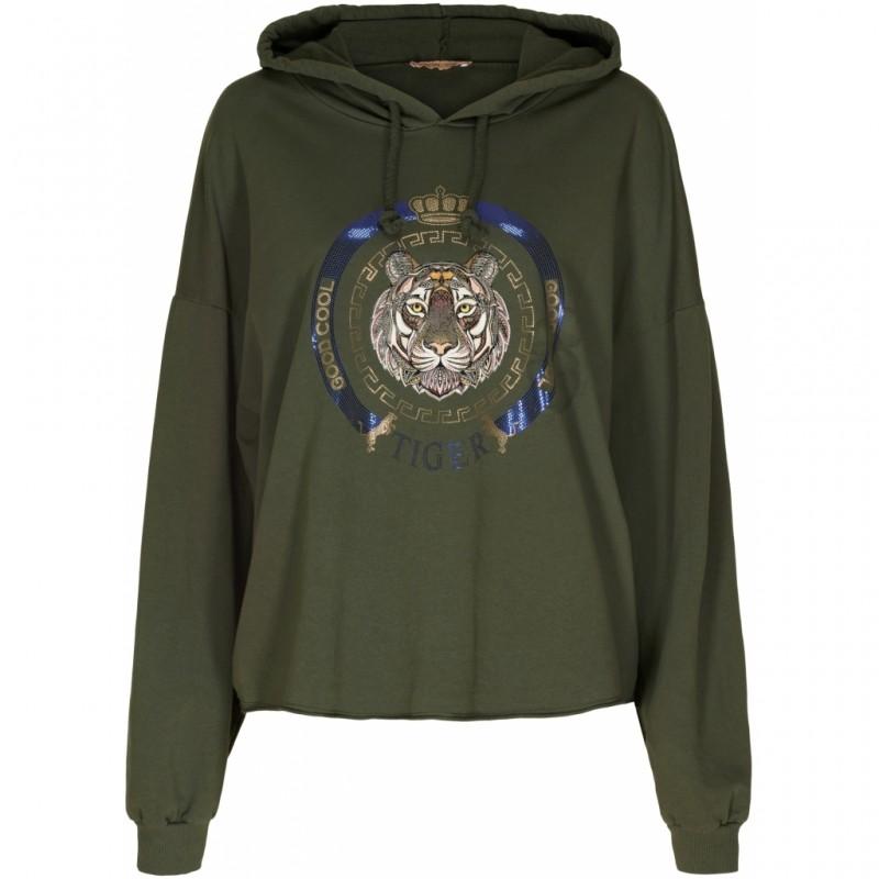 Marta du Cháteau Sweatshirt Military
