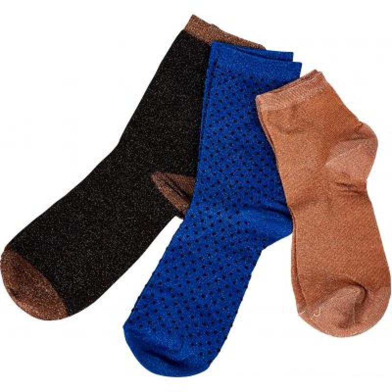 NÜ Socks 3-pack Black