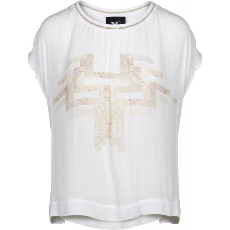 NÜ T-shirt Creme