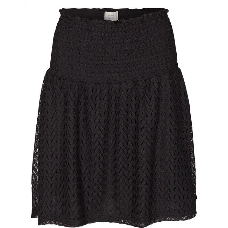 Nümph Adelyn Lace Skirt Caviar