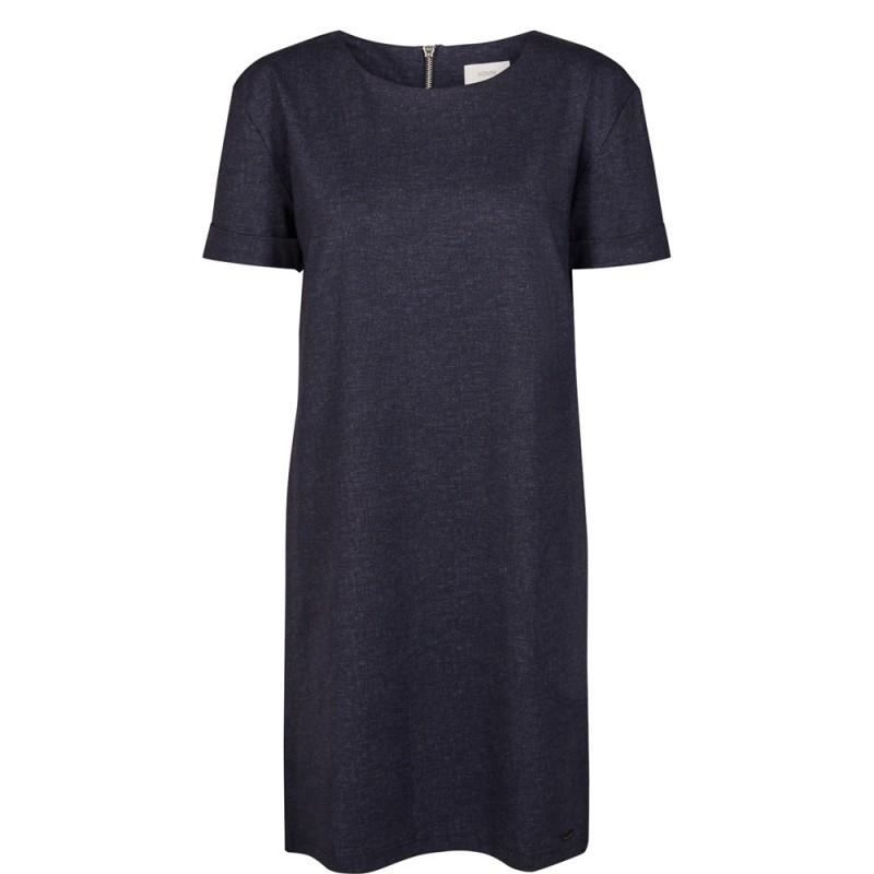 Nümph Berit Sweat Dress Denim Blue