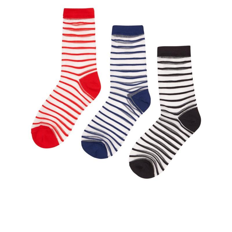 Nümph Bryn 3-Pack Glitter Socks