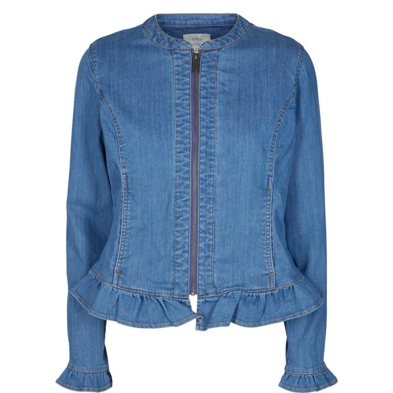 Nümph Brynna Denim Jacket Light Denim Blue