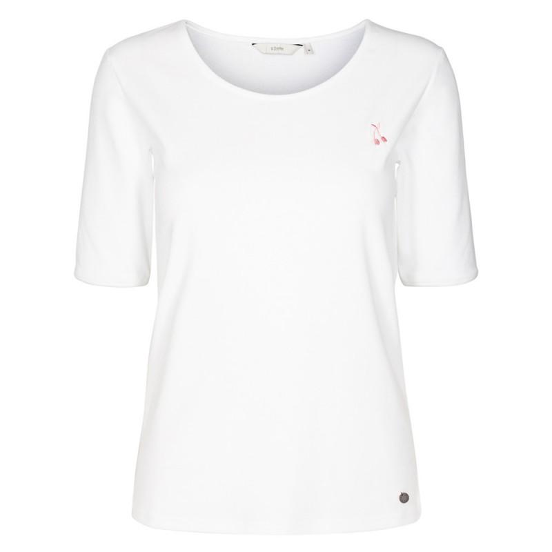 Nümph Campana Jersey T-Shirt Bright White