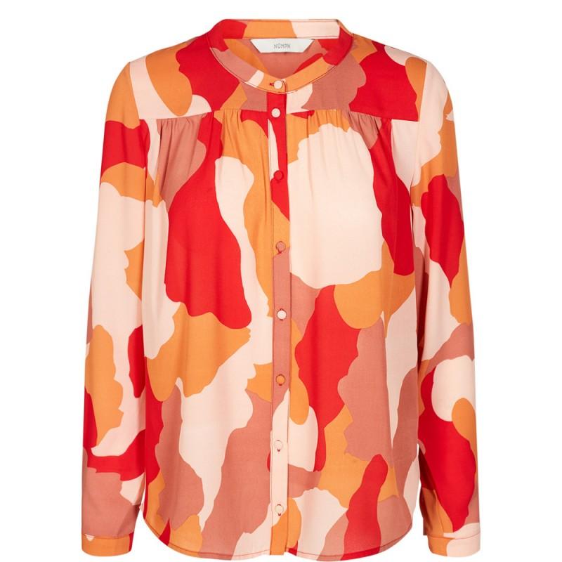 Nümph Deidre Shirt Chinese Red