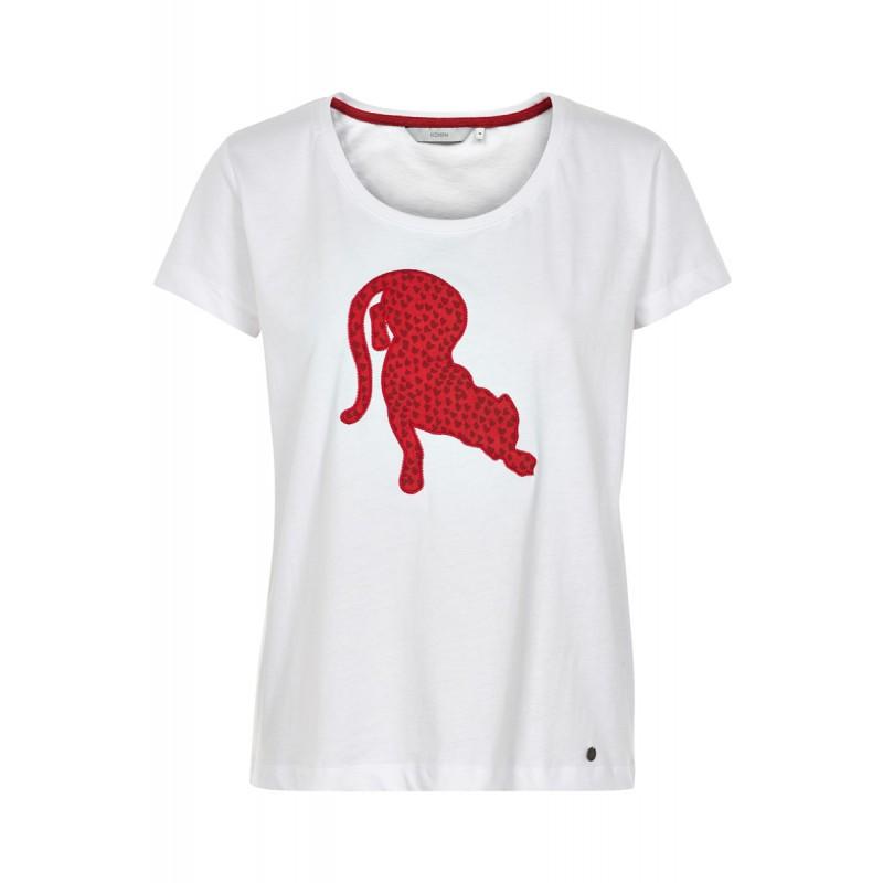 Nümph Ernelinda T-shirt Bright White
