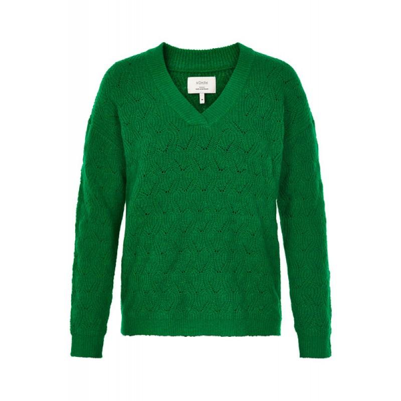 Nümph Farida Pullover Fern Green