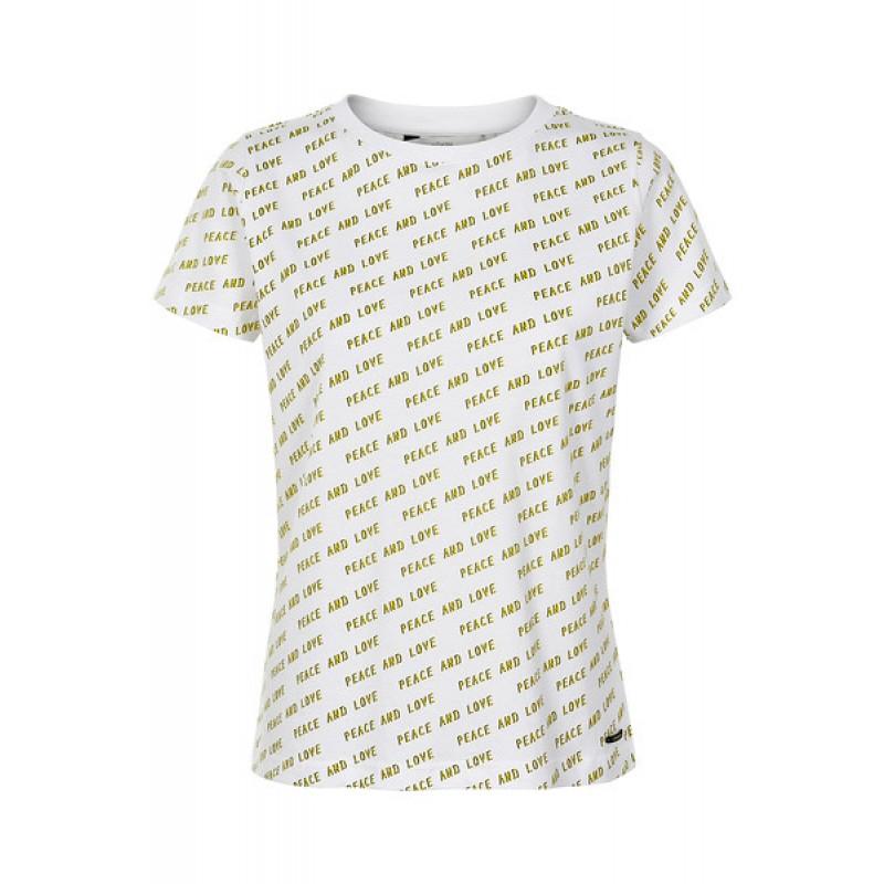 Nümph Kaitlynn T-shirt B. White