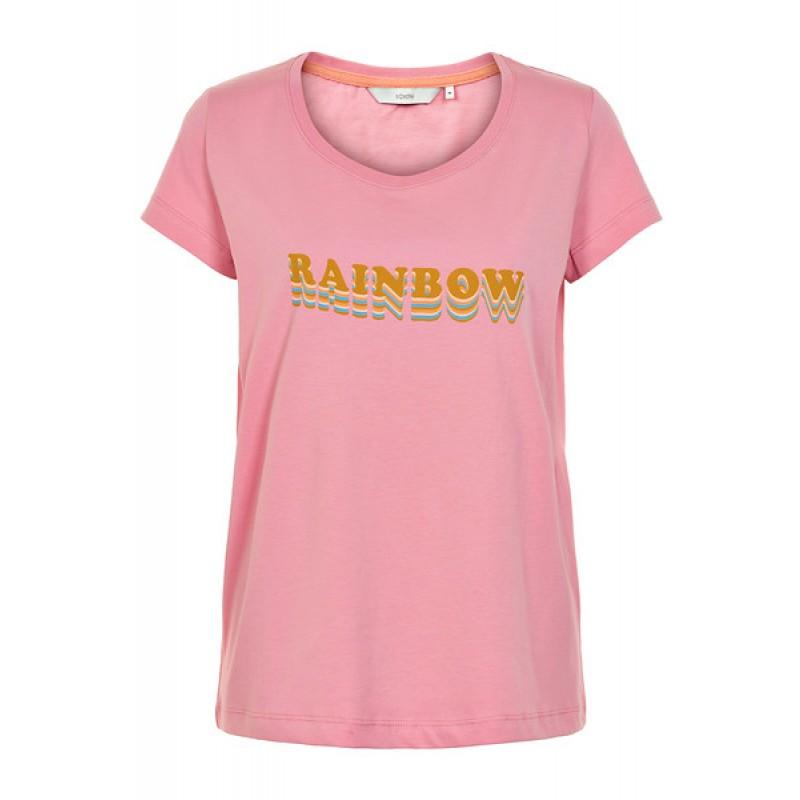 Nümph Karitas Rainbow T-shirt Blush