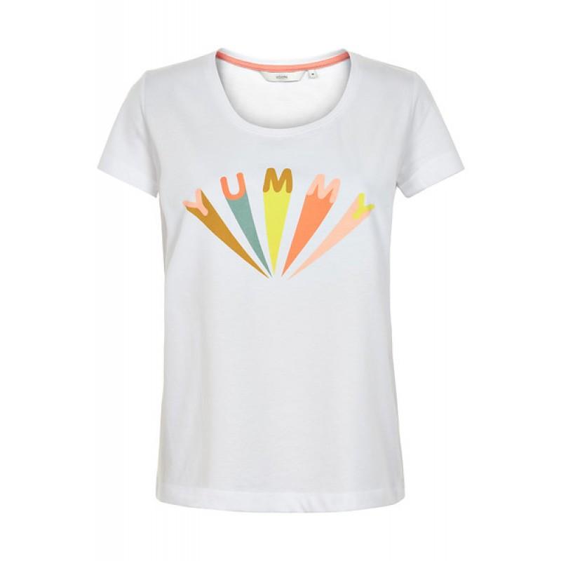 Nümph Karitas Yummy T-shirt B. White