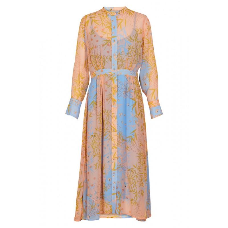 Nümph Kyndall Dress Peach Nec.