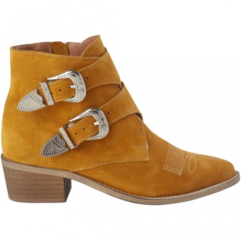 Pavement Carina Yellow Suede
