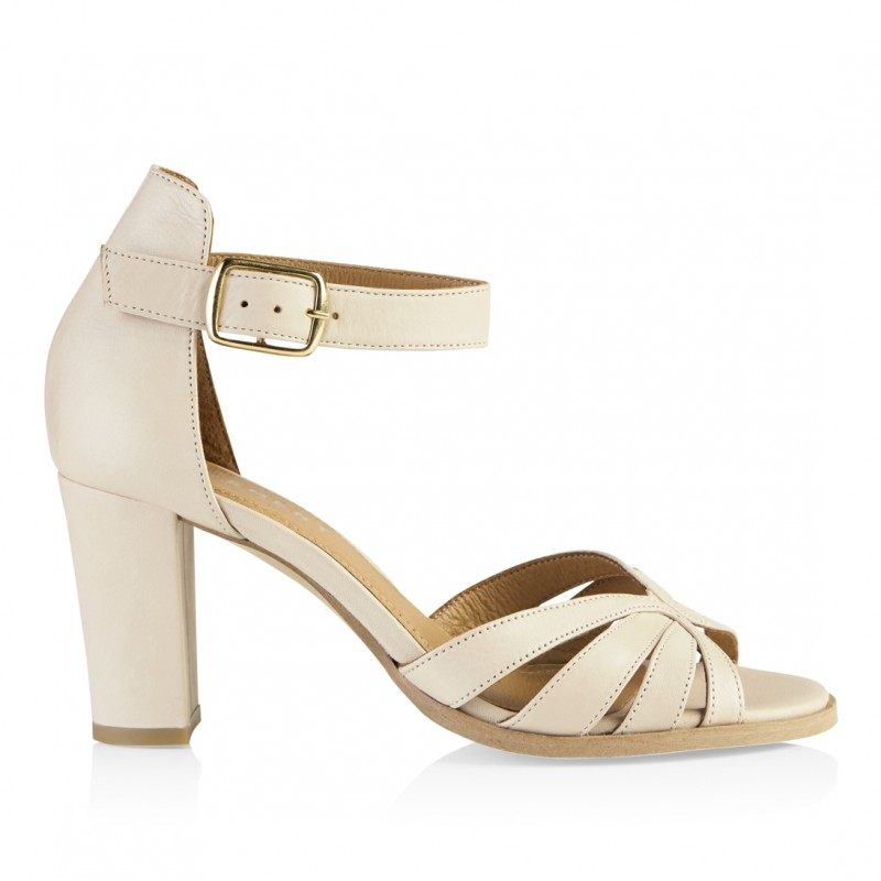 Pavement Gillian Leather Off White