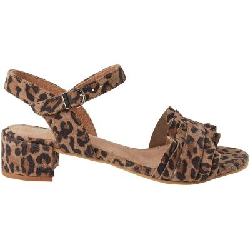 Pavement Holly Leopard Suede