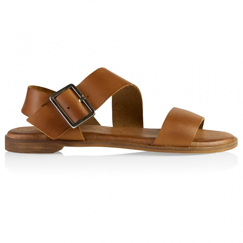 Defeeter Lucia Sandal Leather Tan