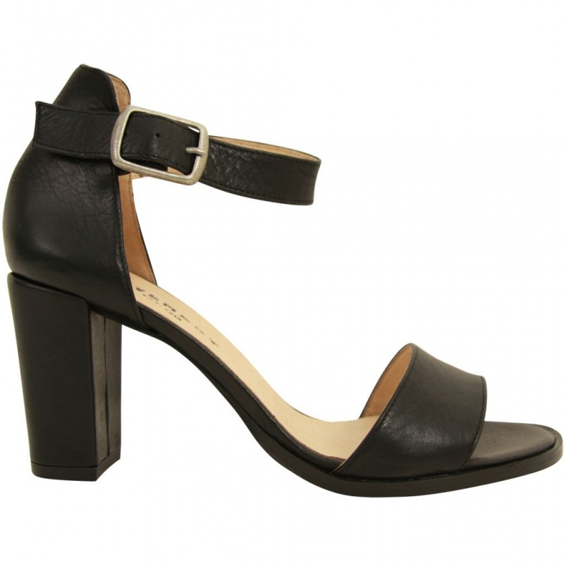 Pavement Silke Leather Black