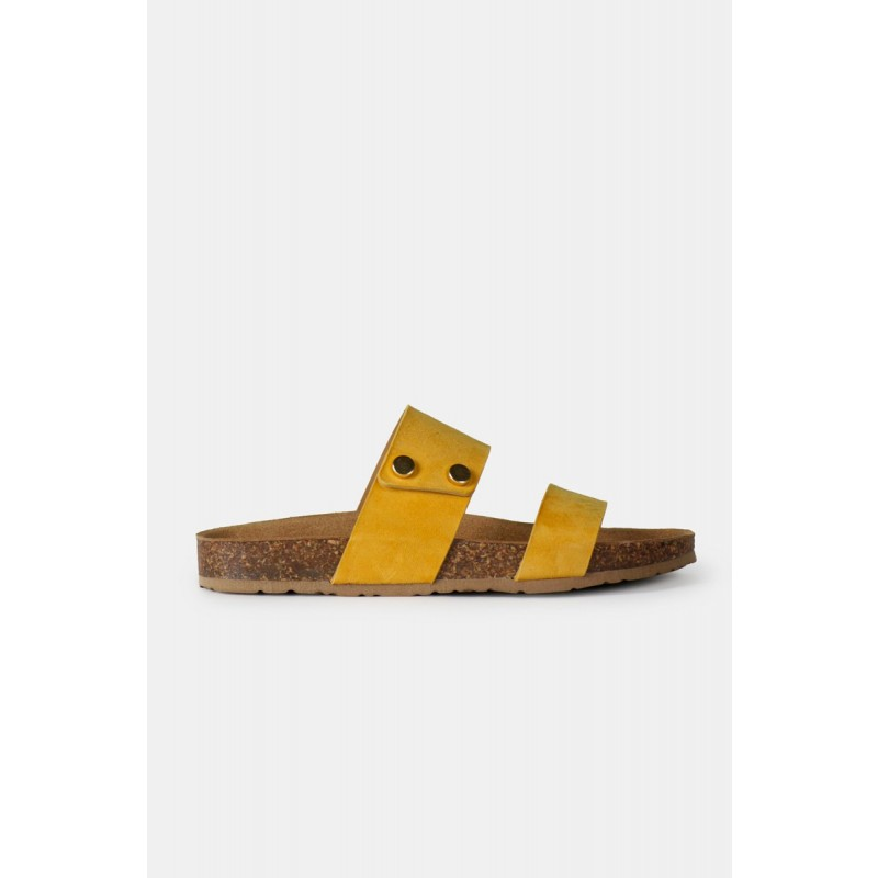 RE:DESIGNED By Dixie Meo Sandals Yellow