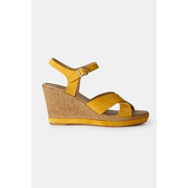 RE:DESIGNED By Dixie Ulrika High Heel Yellow