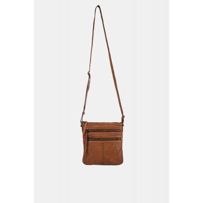 RE:DESIGNED By Dixie Remi Vintage Bag Small Cognac