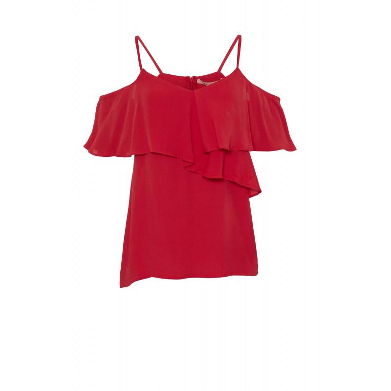 Rue De Femme Daimi Top Red