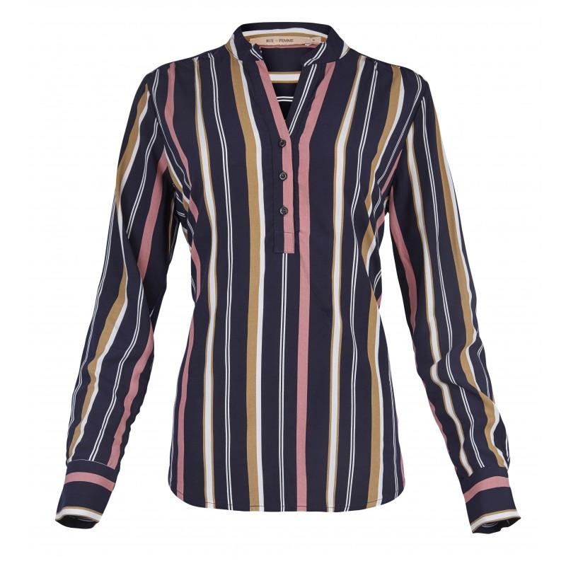 Rue de Femme Doodle New Shirt Stripes
